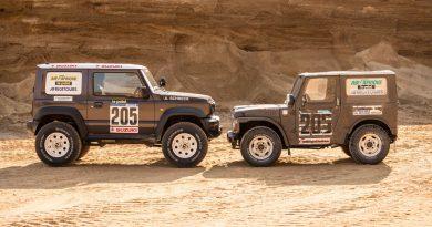 Suzuki Jimny von delta4x4 –Back to the Roots of Dakar 3 390x205 - Revival des Suzuki Jimny - Delta 4x4 verpasst dem Zwerg einen Offroad Anzug
