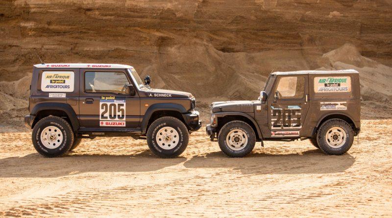 Suzuki Jimny von delta4x4 –Back to the Roots of Dakar 3 800x445 - Revival des Suzuki Jimny - Delta 4x4 verpasst dem Zwerg einen Offroad Anzug