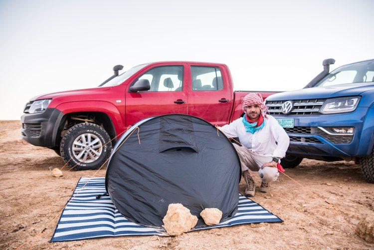 Volkswagen VW Amarok Experience Tour 2018 Oman VW Nutzfahrzeuge Volkswagen Nutzfahrzeuge VW Amarok Offroad AUTOmativ.de Benjamin Brodbeck 21 750x501 - Pick-Up Spezial mit VW Amarok, Toyota Hilux und Co: Unsere Top 5  Gelände-Pritschen!