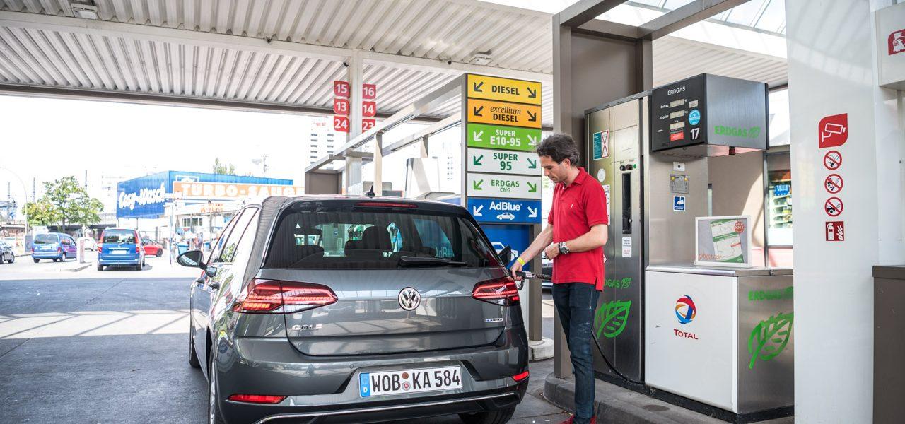 CNG Days VW Golf TGI Test und Fahrbericht 12 1280x600 - Neuer Erdgas-Golf TGI (CNG) im Test: Mit vier Strohballen 11.400 Kilometer weit - CO2-neutral!