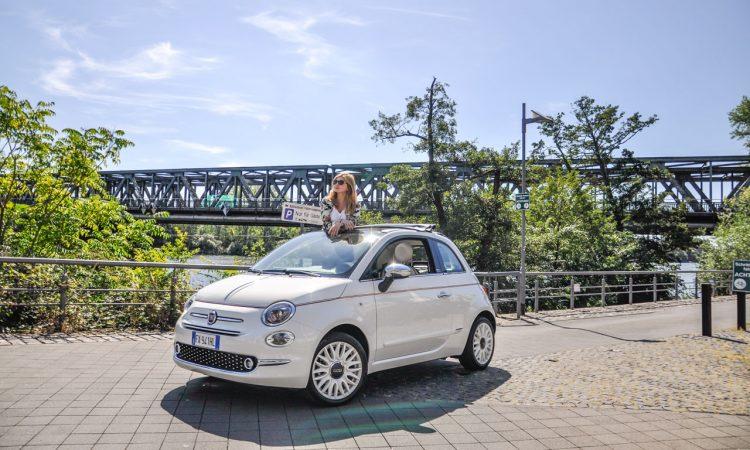 Fiat 500 Dolcevita Sondermodell im Test und Fahrbericht AUTOmativ.de Ilona Farsky Benjamin Brodbeck 16 750x450 - Fiat 500 Dolcevita im Fahrbericht: 85 PS purer italienischer Knutschkugel-Lifestyle