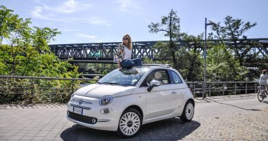 Fiat 500 Dolcevita Sondermodell im Test und Fahrbericht AUTOmativ.de Ilona Farsky Benjamin Brodbeck 21 390x205 - Fiat 500 Dolcevita im Fahrbericht: 85 PS purer italienischer Knutschkugel-Lifestyle