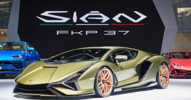 Lamborghini Sian IAA 2019 18 390x205 - Lamborghini Sián - ein italienischer Traum mit grünem Anstrich