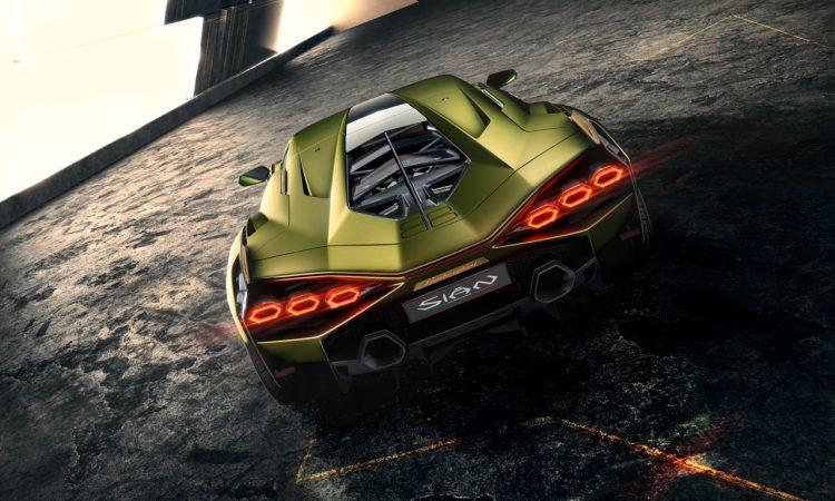 Lamborghini Sian IAA 2019 5 750x450 - Lamborghini Sián - ein italienischer Traum mit grünem Anstrich
