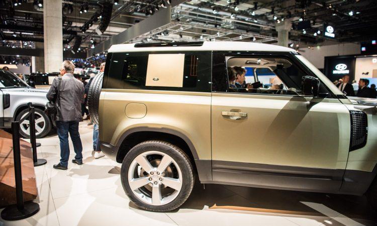Land Rover Defender 2019 IAA 2019 AUTOmativ.de 1 750x450 - Land Rover Defender (2020) - futuristischer Look fürs 21. Jahrhundert