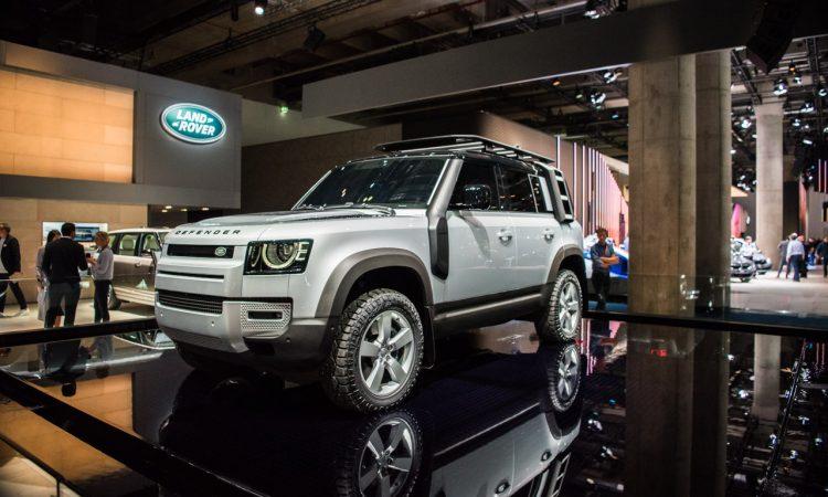 Land Rover Defender 2019 IAA 2019 AUTOmativ.de 10 750x450 - Land Rover Defender (2020) - futuristischer Look fürs 21. Jahrhundert
