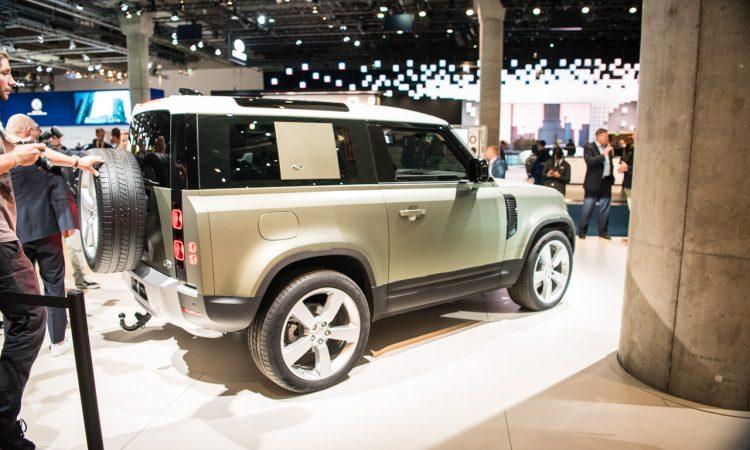 Land Rover Defender 2019 IAA 2019 AUTOmativ.de 2 1 750x450 - Land Rover Defender (2020) - futuristischer Look fürs 21. Jahrhundert