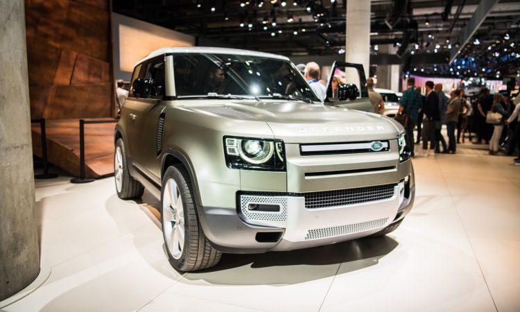 Land Rover Defender 2019 IAA 2019 AUTOmativ.de 5 750x450 - Land Rover Defender (2020) - futuristischer Look fürs 21. Jahrhundert