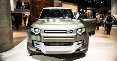 Land Rover Defender 2019 IAA 2019 AUTOmativ.de 7 390x205 - Land Rover Defender (2020) - futuristischer Look fürs 21. Jahrhundert