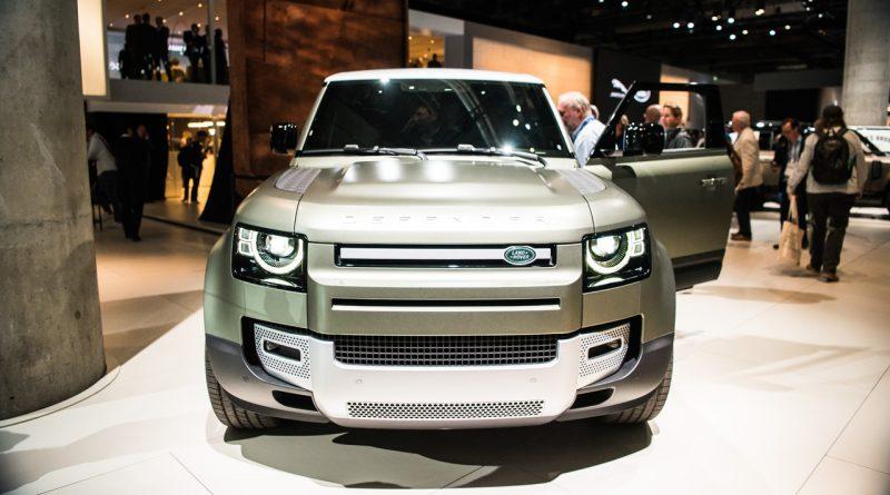 Land Rover Defender 2019 IAA 2019 AUTOmativ.de 7 800x445 - Land Rover Defender (2020) - futuristischer Look fürs 21. Jahrhundert