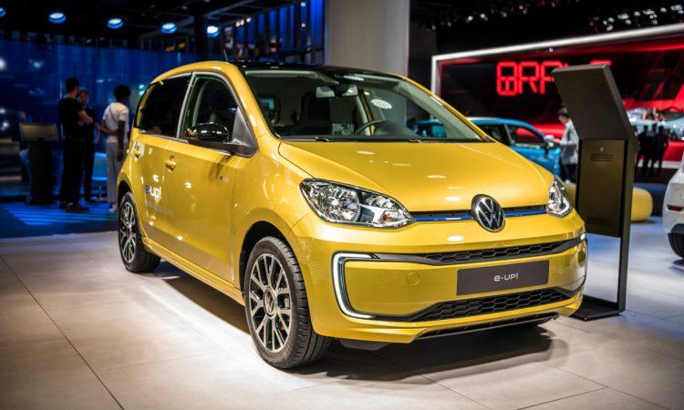 IAA 2019 e up eGolf Test 2 750x450 - VW e-up und VW e-Golf: Trotz ID.3 immer noch interessant?
