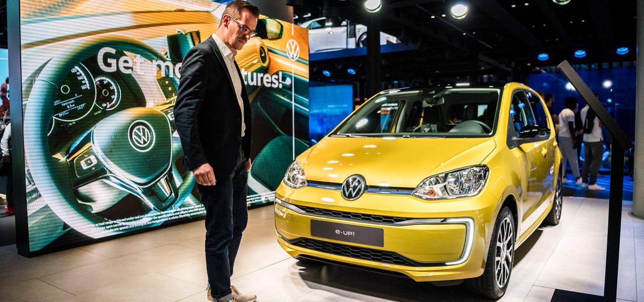 IAA 2019 e up eGolf Test 8 1280x600 - VW e-up und VW e-Golf: Trotz ID.3 immer noch interessant?
