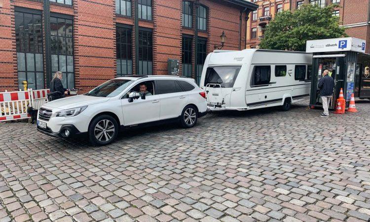 Subaru Outback 2.5i mit Fendt Caravan Bianco Activ 515 SD auf Tour nach Hamburg AUTOmativ.de Benjamin Brodbeck 82 750x450 - Test Caravan-Gespann: Fendt Bianco Activ 515 SD mit Subaru Outback 2.5i
