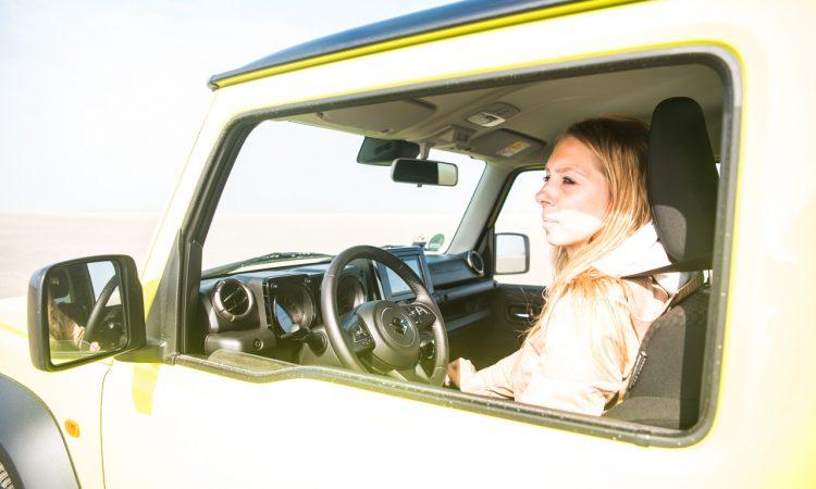 Suzuki Jimny 2019 im Test und Fahrbericht Offroad und Onroad Strand SUV AUTOmativ.de Benjamin Brodbeck 38 750x450 - Test Suzuki Jimny 1.5 Allgrip (Comfort+): Fun on the Beach