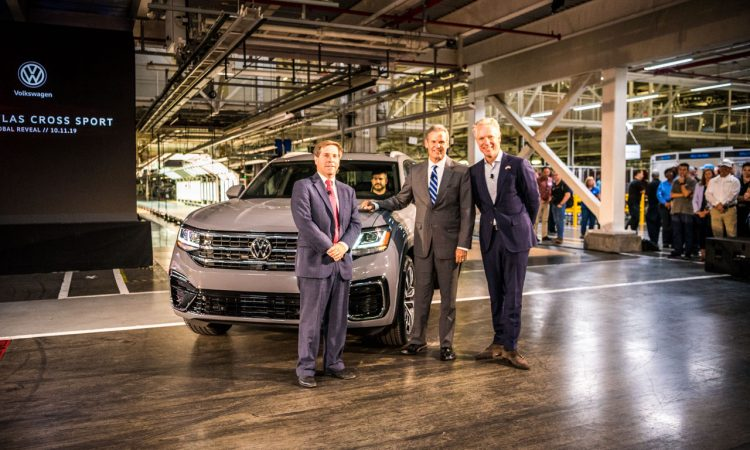 VW Volkswagen Atlas Cross Sport Weltpremiere Chattanooga AUTOmativ.de Benjamin Brodbeck 33 750x450 - Erste Sitzprobe im VW Atlas Cross Sport: US-SUV-Coupé im dynamischen Look!