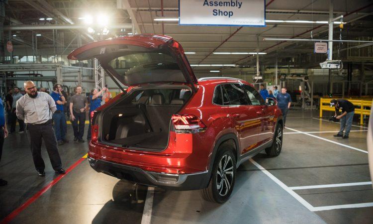 VW Volkswagen Atlas Cross Sport Weltpremiere Chattanooga AUTOmativ.de Benjamin Brodbeck 65 750x450 - Erste Sitzprobe im VW Atlas Cross Sport: US-SUV-Coupé im dynamischen Look!