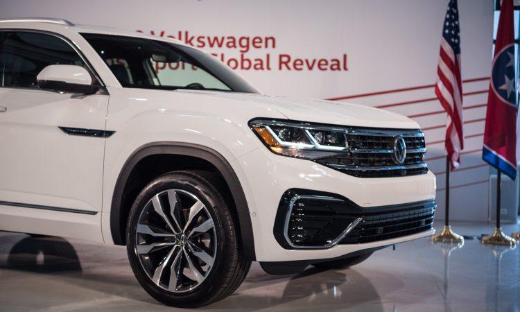 VW Volkswagen Atlas Cross Sport Weltpremiere Chattanooga AUTOmativ.de Benjamin Brodbeck 81 750x450 - Erste Sitzprobe im VW Atlas Cross Sport: US-SUV-Coupé im dynamischen Look!