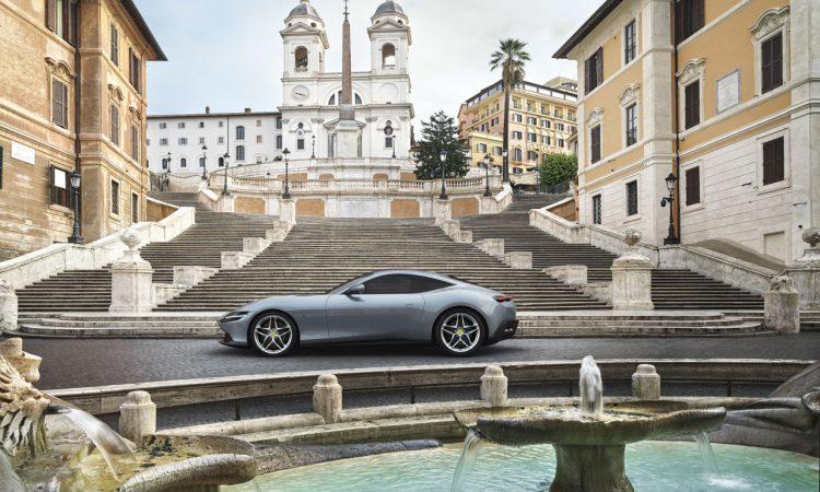 Ferrari Roma 3 750x450 - Der neue Ferrari Roma: Vorfreude auf den Sommer