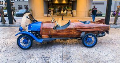 Helicron von 1932: Ein Auto mit Propeller für die Straße!