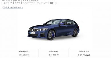 Alpina B3 Konfigurator 390x205 - BMW Alpina B3 Verkaufsstart: Das wäre unsere Konfiguration!