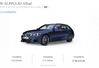 BMW Alpina B3 Verkaufsstart: Das wäre unsere Konfiguration!