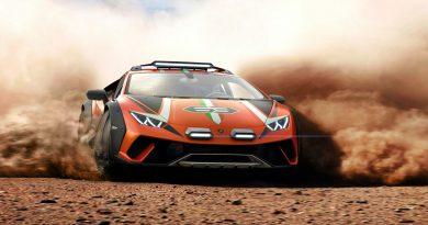 Lamborghini Sterrato V10: Ab in's Gelände!