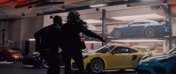"Neuer Porsche 911 GT3 2020 1 750x315 - Neuer Porsche 911 GT3 (992) in Porsche-Video ""The Heist"""