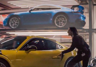 """Neuer Porsche 911 GT3 (992) in Porsche-Video """"The Heist"""""""