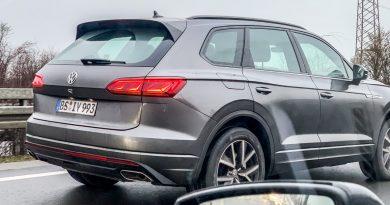 Ungetarnt: Neuer VW Touareg R mit Porsche-Motor und über 450 PS!