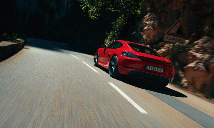 Porsche 718 Boxster GTS und Cayman GTS 4.0 400 PS 5 750x450 - Porsche 718 Boxster und Cayman GTS 4.0 Modelle mit 400 PS!