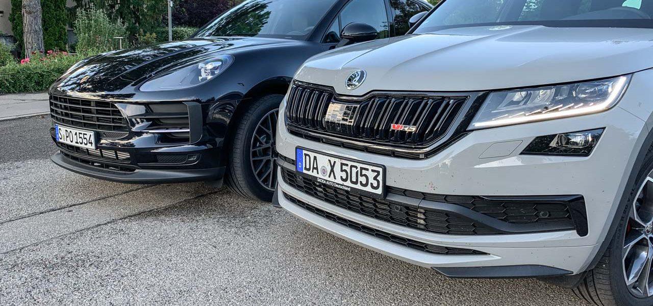 Skoda Kodiaq RS vs Porsche Macan Basis Vergleich Test und Fahrbericht AUTOmativ.de Benjamin Brodbeck 9 1280x600 - SUV-Vergleich: Skoda Kodiaq RS oder Porsche Macan?