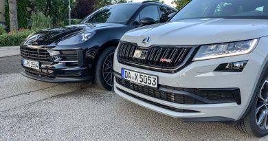 Skoda Kodiaq RS vs Porsche Macan Basis Vergleich Test und Fahrbericht AUTOmativ.de Benjamin Brodbeck 9 390x205 - SUV-Vergleich: Skoda Kodiaq RS oder Porsche Macan?
