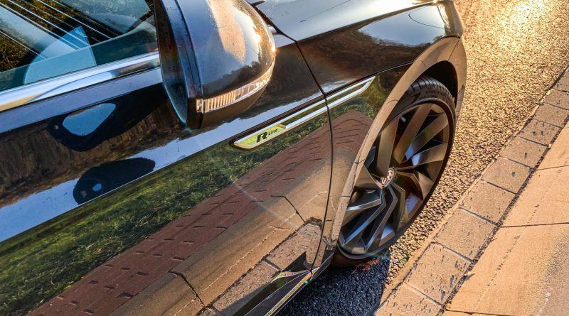 Volkswagen VW Arteon kurz gefahren AUTOmativ.de 10 800x445 - Kurz gefahren: VW Arteon 2.0 TDI R-Line mit präsentem Dieselsound