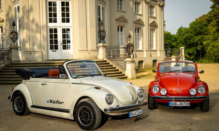 Volkswagen eKaefer Oldtimer Elektrifizierung 4 750x450 - Sinnfreiheit Deluxe: Elektrifizierung von Oldtimern - eKäfer & Co.