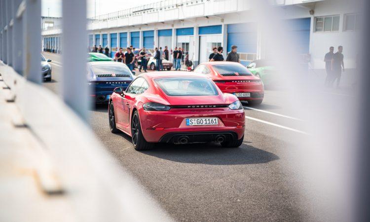 Porsche 718 Cayman GTS 4.0 Racetrack Rennstrecke Fahrbericht Test High Speed 400 PS AUTOmativ.de Benjamin Brodbeck 22 750x450 - Porsche 718 Cayman GTS 4.0 auf der Rennstrecke: Extrovertierter Feinfühler