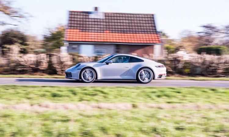Porsche 911 Carrera 992 im Test und Fahrbericht AUTOmativ.de Benjamin Brodbeck Pia Lehmann 34 750x450 - Fahrbericht Porsche 911 Carrera (992): Basis-Elfer überhaupt nicht Basis