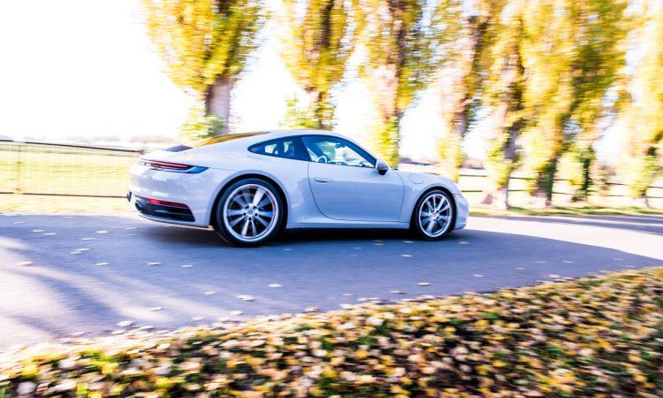 Porsche 911 Carrera 992 im Test und Fahrbericht AUTOmativ.de Benjamin Brodbeck Pia Lehmann 63 750x450 - Fahrbericht Porsche 911 Carrera (992): Basis-Elfer überhaupt nicht Basis