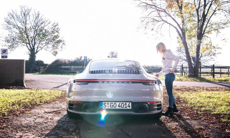 Porsche 911 Carrera 992 im Test und Fahrbericht AUTOmativ.de Benjamin Brodbeck Pia Lehmann 81 750x450 - Fahrbericht Porsche 911 Carrera (992): Basis-Elfer überhaupt nicht Basis