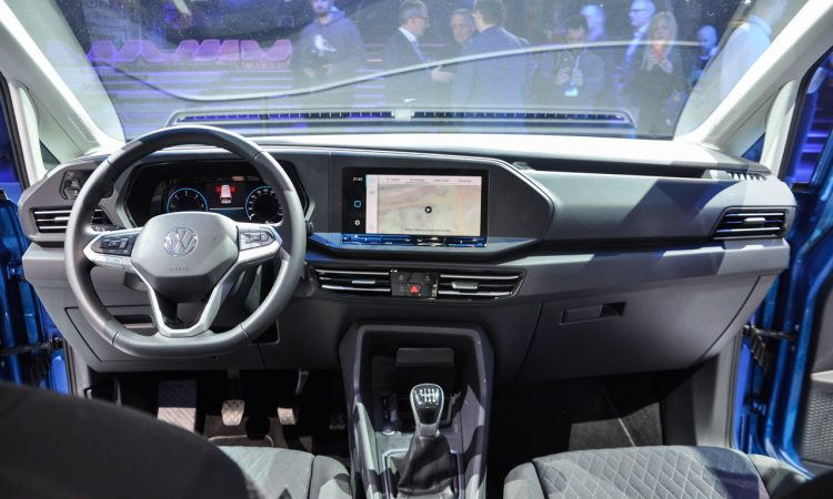 VW Caddy 2020 Weltpremiere 15 750x450 - VW Caddy 5 (2020): Das Alltagswerkzeug in neuem Mantel