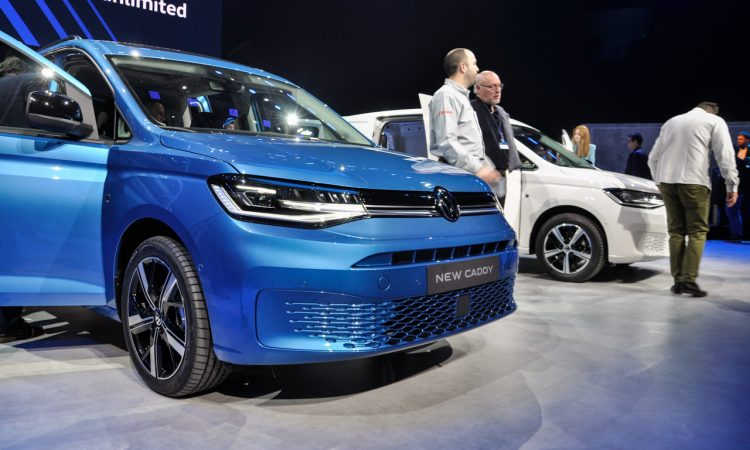 VW Caddy 2020 Weltpremiere 17 750x450 - VW Caddy 5 (2020): Das Alltagswerkzeug in neuem Mantel