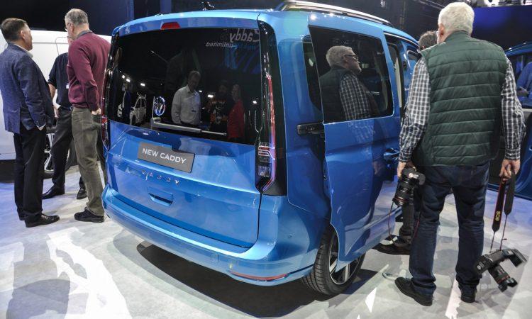 VW Caddy 2020 Weltpremiere 9 750x450 - VW Caddy 5 (2020): Das Alltagswerkzeug in neuem Mantel
