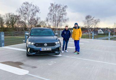 Benjamin Leuchter holt seinen eigenen VW T-Roc R ab!