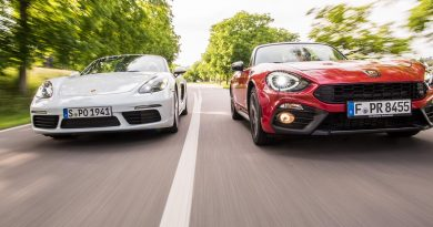 Doppelter Preis, doppelter Spaß? 981 Boxster GTS, GTS 4.0, Abarth 124 Spider?