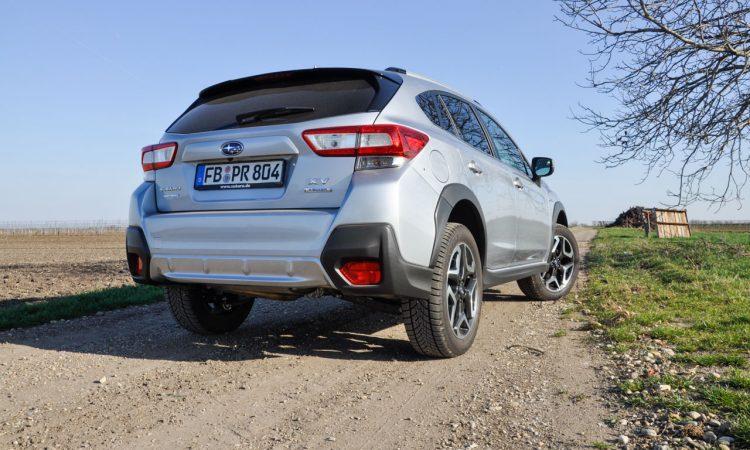 Subaru XV e Boxer Fahrbericht und Test AUTOmativ.de Ilona Farsky 13 750x450 - Fahrbericht Subaru XV e-Boxer: Mit dem Hybrid durch den Schlamm statt zum Biomarkt