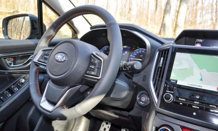 Subaru XV e Boxer Fahrbericht und Test AUTOmativ.de Ilona Farsky 24 750x450 - Fahrbericht Subaru XV e-Boxer: Mit dem Hybrid durch den Schlamm statt zum Biomarkt
