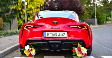 "Mit der Supra niemals: ""Don't be late for mother's day!"""