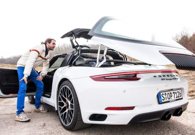 Porsche 911 (991.2) Targa 4 GTS im Fahrbericht: Wölb-Glas-Transformer