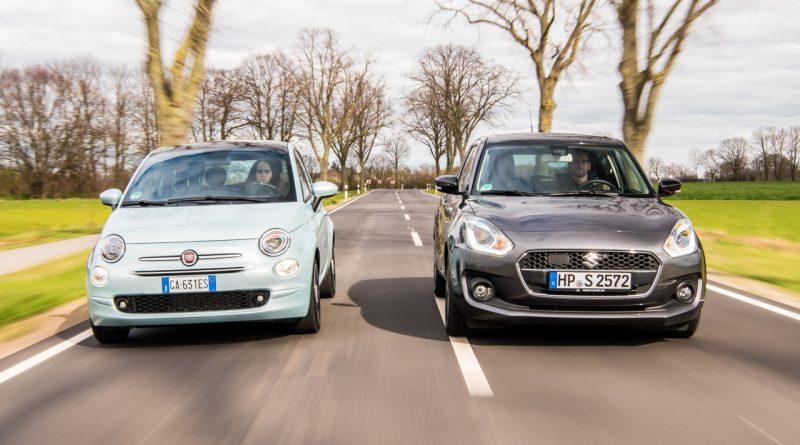Suzuki Swift Hybrid und Fiat 500 Hybrid Mild Hybride im Test AUTOmativ.de Benjamin Brodbeck TITELBILD 1 800x445 - Mild-Hybride im Vergleich: Fiat 500 Hybrid vs. Suzuki Swift Hybrid