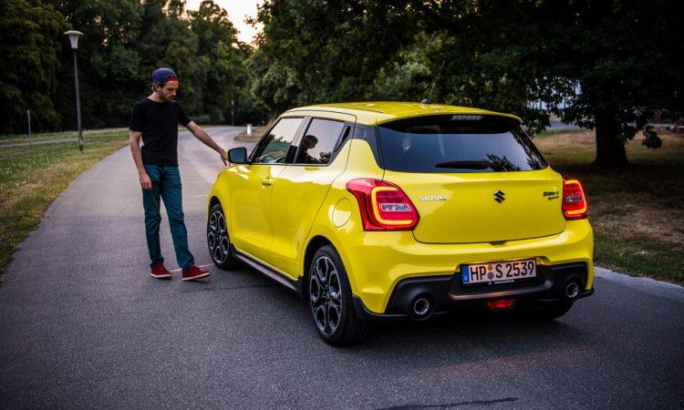 Suzuki Swift Sport Hybrid im Test und Fahrbericht AUTOmativ.de Benjamin Brodbeck 7 750x450 - Test Suzuki Swift Sport 2019 (140 PS): Kein Mild-Hybrid, kein OPF - Juhu!