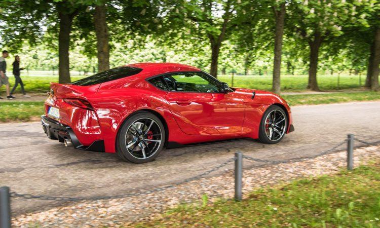Toyota GR Supra 3.0 2020 Sportwagen Test und Fahrbericht AUTOmativ.de Benjamin Brodbeck 91 750x450 - Toyota GR Supra 3.0 (2020): Zu viel BMW? 718-Alternative? Fahrbericht!